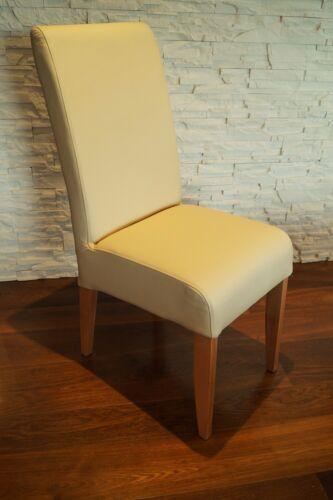 Creme Echtleder Stuhl Echtes Leder Stühle Lederstühle Esszimmerstuhle Lehnstuhl