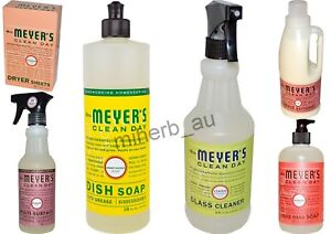 10-X-ASSORTED-Mrs-Meyers-Muti-Surface-Hand-Wash-Bathroom-Toilet-Cleaner-etc