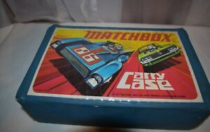 1971-Matchbox-Carry-Case-Lesney-Products-amp-Co-England-Holds-24-Cars