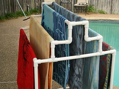 Six (6) Towel Rack for your pool