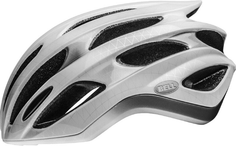 Bell Formula Road Bike  Helmet blanco plata negro  alta calidad general