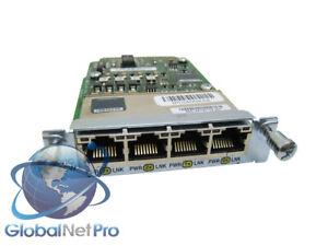 CISCO-HWIC-4ESW-POE-4-Port-Ethernet-Switch-HWIC-w-POE-LIFETIME-WARRANTY