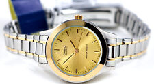 Casio LTP1128G-9A Ladies Two-Tone Stainless Steel Casual Dress Watch Gold Dial