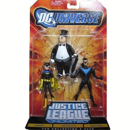 Dc universe__justice liga unlimited__batgirl_the penguin_nightwing 4