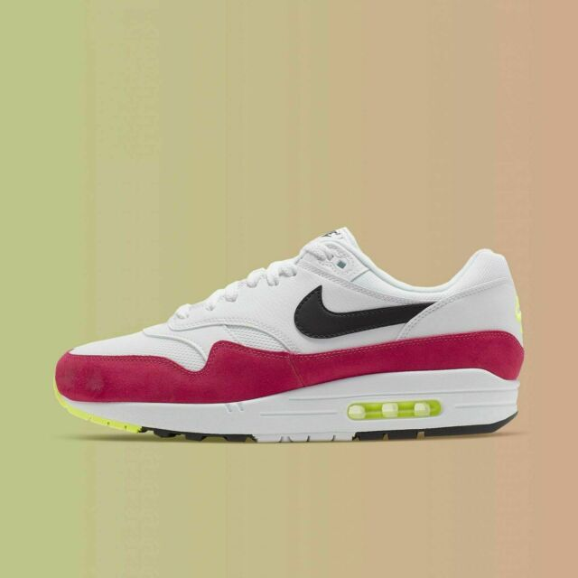 Nike Air Max 1 Red Size 8 9 10 11 12 Mens Shoes AH8145 111