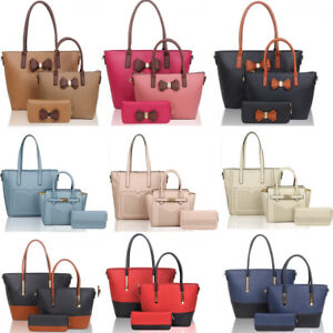 portemonnee Women's kunstleer 1 koppeling Leahward handtassen schoudertas met 3 in WrdBoeCx