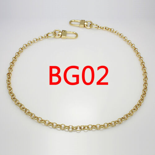 "K Craft Purse Chain Strap Gold 6mm X 115cm(45"") Handle Crossbody Handbag Metal by K Craft"