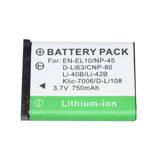Batería Para Np-45 Np-45a Fujifilm Finepix Xp11 Z100fd Z10fd Z200fd Z20fd Z250fd