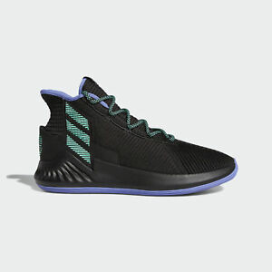247bb342 Adidas D Rose 9 [BB8018] Men Basketball Shoes Derrick Black/Green | eBay