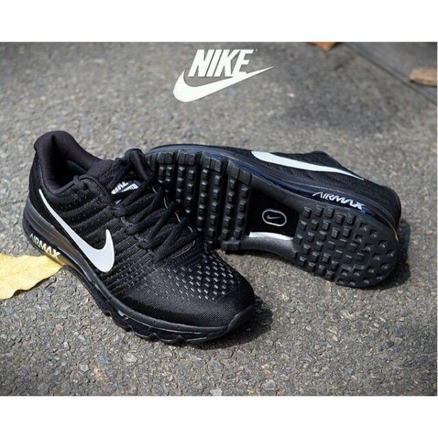 Size 13 - Nike Air Max 2017 Black - 849559-001
