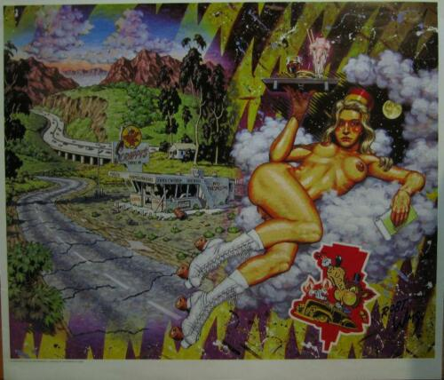 ODE TO SENTIMENTALITY POSTER ROBERT WILLIAMS LOWBROW ART