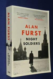 NIGHT-SOLDIERS-Alan-Furst-BOOK-Fiction-Spy-Novel-1930s-Europe