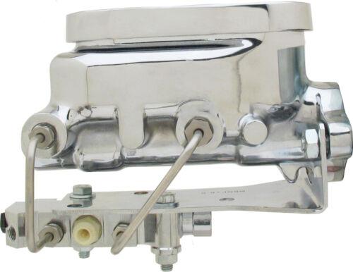"1955-57 GM Fullsize Tri-Five Cars Chrome Flat Top 8/"" Brake Booster Kit GMFS1-308"