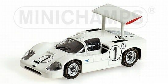 MINICHAMPS 436671401 chararral 2 F Winner BOAC 500 BRANDS HATCH 1967 1 43 Nouveau neuf dans sa boîte