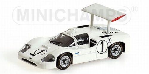Minichamps 436671401 Chararral 2F Winner BOAC 500 Brands Hatch 1967 1:43 NEU OVP