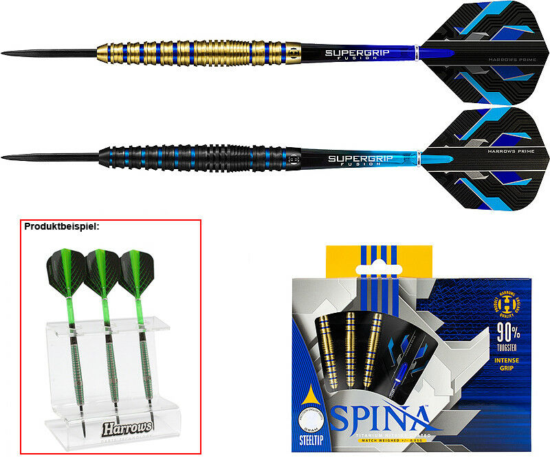 Darts HARROWS Spina Steeldarts + Dartständer - - - Dart Set 9af6ca
