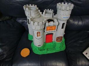 Vintage-1994-Fisher-Price-Great-Adventures-Medieval-Castle-Playset-7110