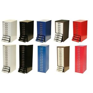 Image Is Loading Bisley 10 15 Drawer Multidrawer A4 Filing Storage