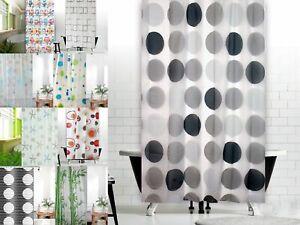 Tende Da Doccia Design : Peva d tenda della doccia lilla grigio rosa nero