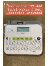 Brother P Touch Pt D400 Electronic Labeling System All Paperwork New Batteries