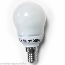 3 Bajo Consumo de energía ahorro Golf lámpara luz bombillas ses E14 smalll Rosca Edison Blanco Frío