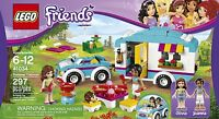 Lego Friends Summer Caravan Car + Camper Trailer 41034 Sealed Box Camping
