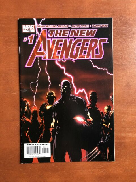 The New Avengers #1 (2005) 9.2 NM Marvel Key Issue Comic Book High Grade