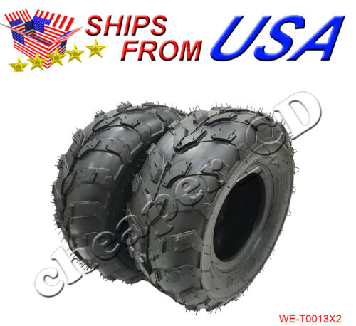145x70-6 Rear Front Tire 50cc 70cc 110cc ATV Quad Go Kart 145//70-6 X2pc