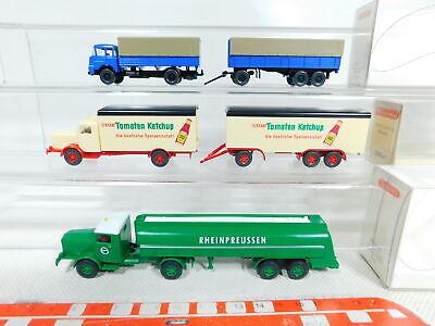 5 #3x Wiking 1:87/h0 Truck 0882/886 Büssing Very Good 799 Krupp Bx394-0 box Durable Service