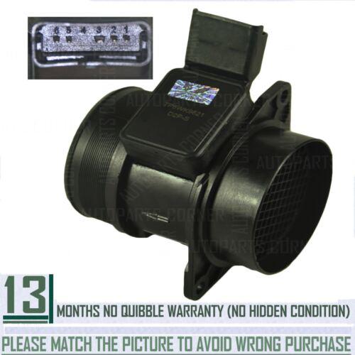 Peugeot Medidor De Masa Aire Sensor//maf Sensor para Citroen Lancia Fiat