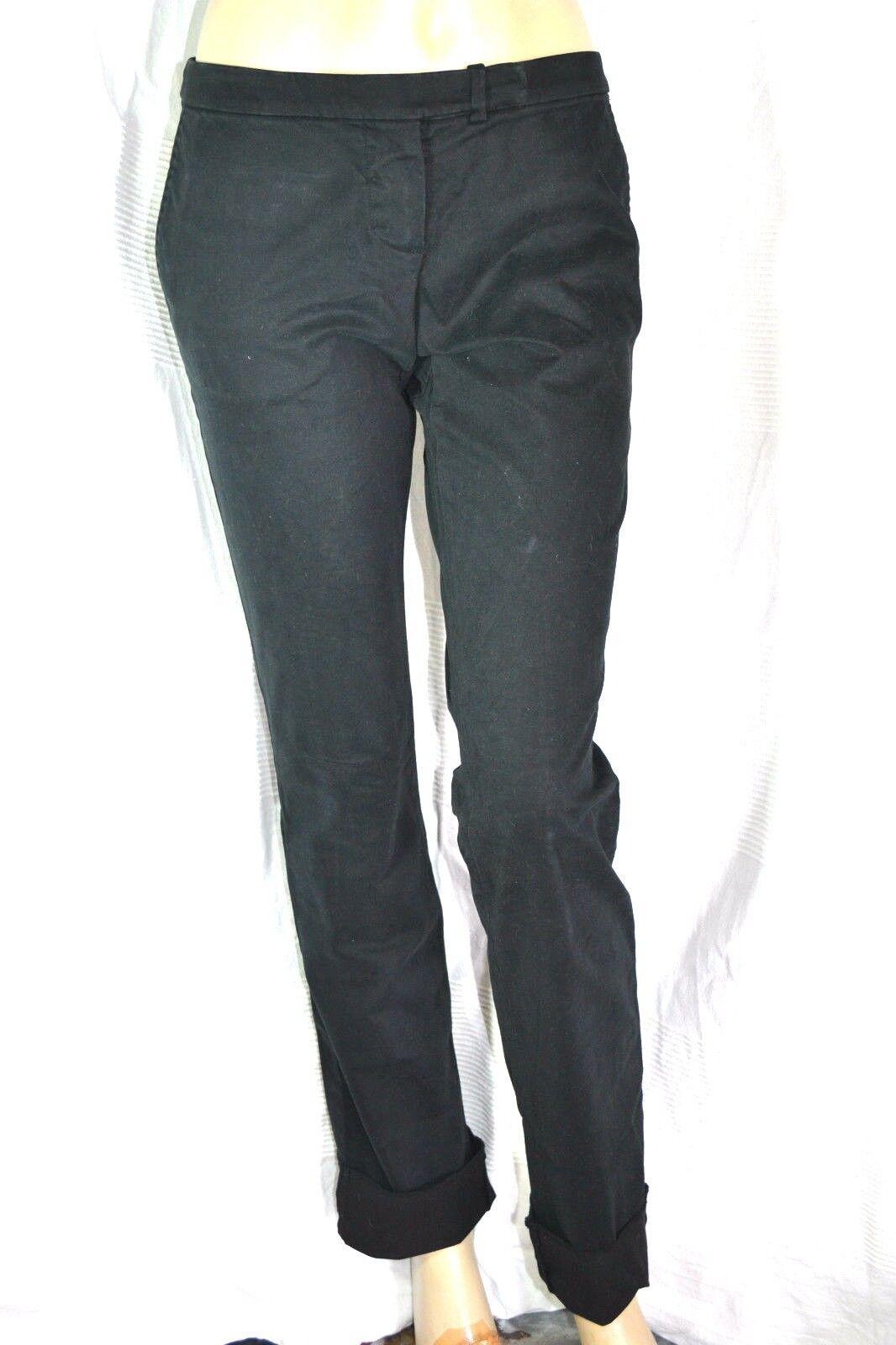 EXTE EXTÈ  Designer 7 8 Hose Jeans trousers black 38 40 M skinny neu