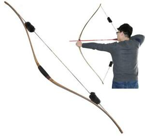 Details about NEW IRQ Archery Bow Triangular One Piece Traditional Wood  Longbow Hunting Target