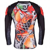 Tatami Japan Series Maple Koi Rash Guard Rashguard Jiu Jitsu Compression No-gi
