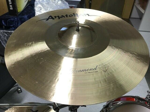 ANATOLIAN Diamond Series  19  Crash Cymbal aus ISTANBUL - TURKEY - NEU