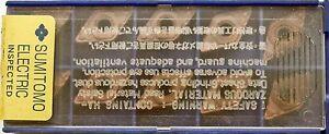 10 Plaquettes De Coupe Plaquettes Sumitomo Dnmg 110408nlu, T2000z, Dnmg332 Lu