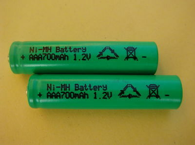 Varta Akku Micro AAA Ni-MH 550mAh SOLAR Leuchten Lampen Accu Batterie HR6 Mignon