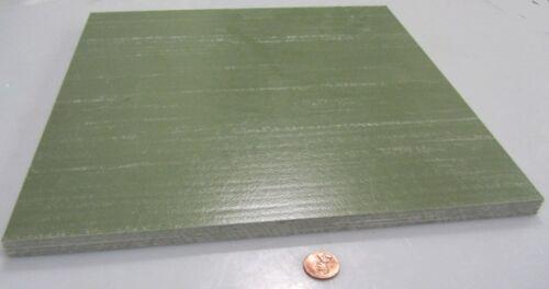 """Extren .500/"""" x 12/"""" x 12/"""" Olive Green Fiberglass Sheet"""