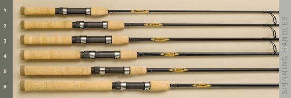 FISHING ROD ST CROIX 6.6' 201 cm 14 gr TRIUMPH SPINNING 1 8-1 2 TRS66MLF2