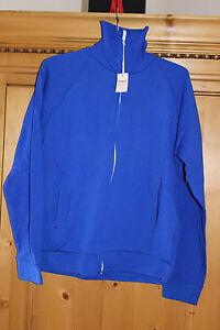Dropnyl Helanca T 4 Warm Und Winddicht Clever Vintage Und Neun Mit Etikett -jacke Jogging Blau