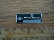 Morris Metal Display Plaque Models 1/18 1/43 Mini Cooper Minor Oxford Traveller