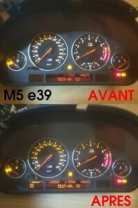 Réparation affichage compteur BMW série 5 e39, série 7 e38, X5 e53