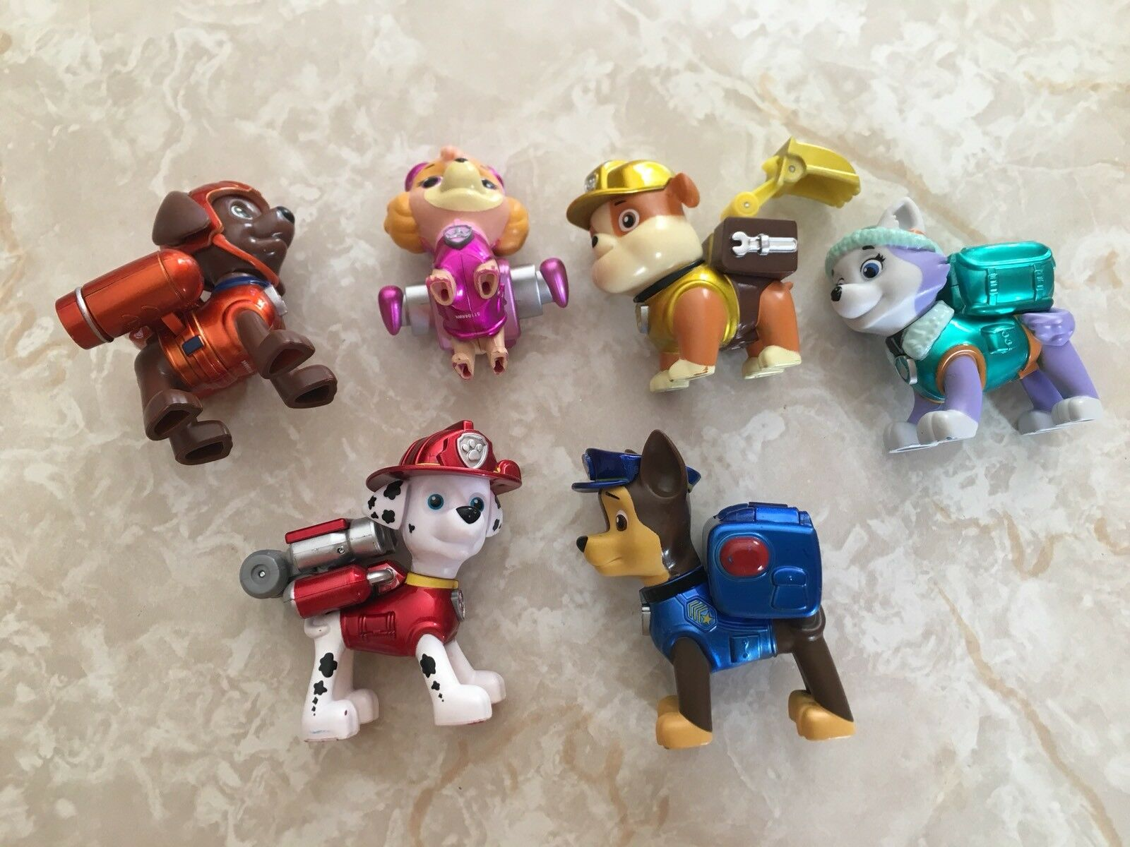 Paw Patrol Limited Edition Metallic Series Action Pups Target Exclusive Lot