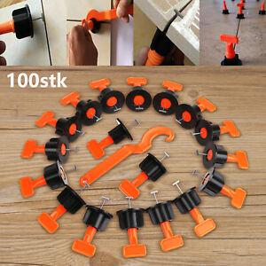 100stk-Nivelliersystem-Verlegehilfe-Verlegesystem-Fliesen-Verlegen-1-Tool-WTTD