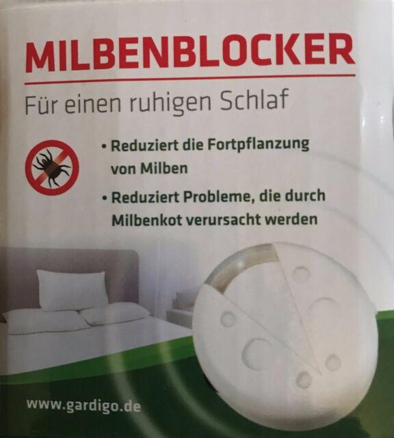 Gardigo Milbenblocker Milbenabwehr Milbenstopp Milbenschutz Milbenallergie Milbe
