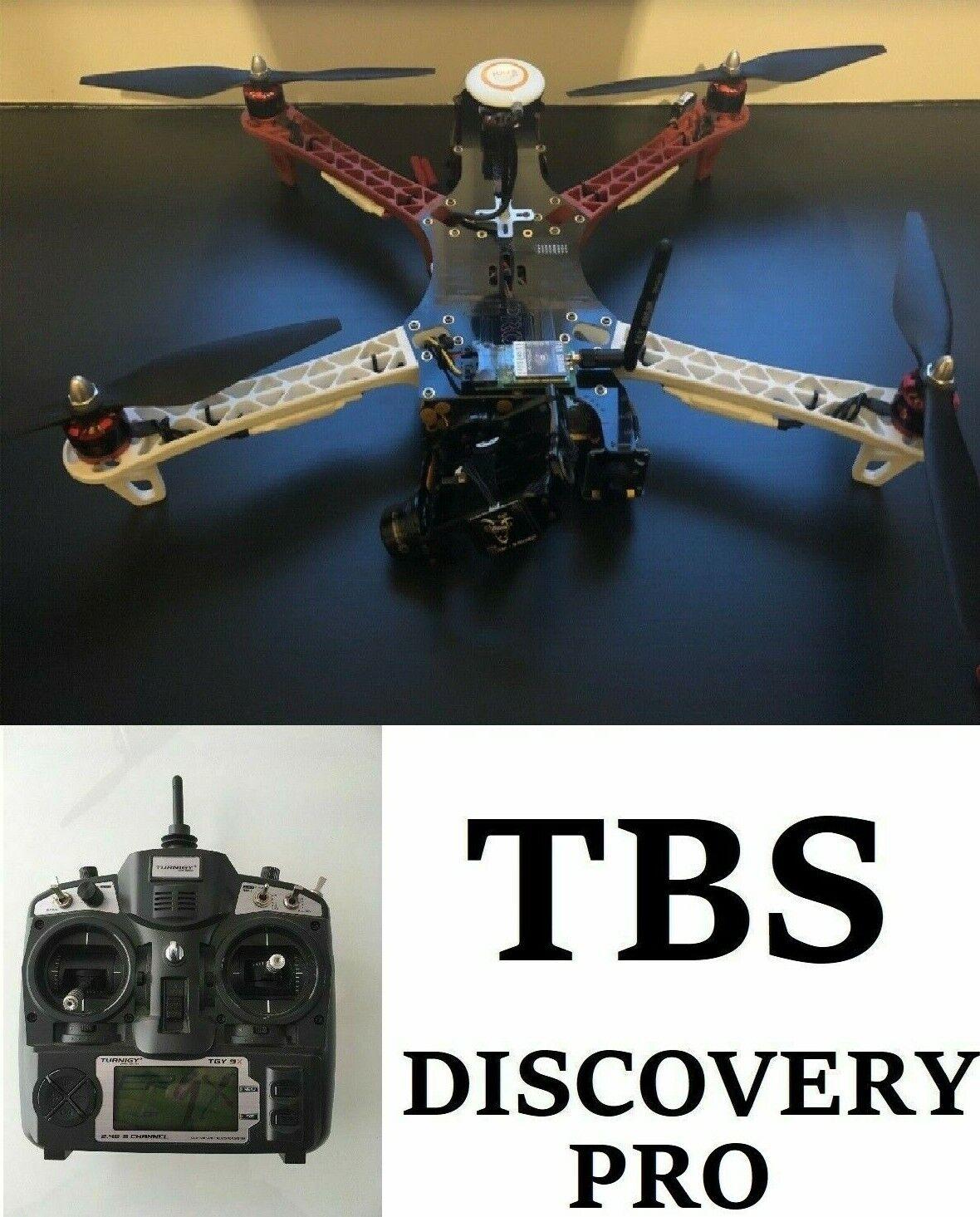 Descubrimiento TBS DJI Naza V2 Pro RC Cuadricóptero FPV Turnigy 9X FrSky Fatshark Drone