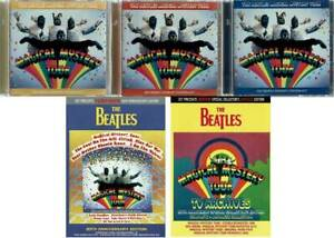 The-Beatles-MAGICAL-MYSTERY-TOUR-2017-50th-Anniversary-Title-Set-7CD-5DVD-Music