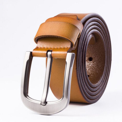 NEW Fashion Cow Genuine Leather Men Fashion Classice Vintage Style Male Belts