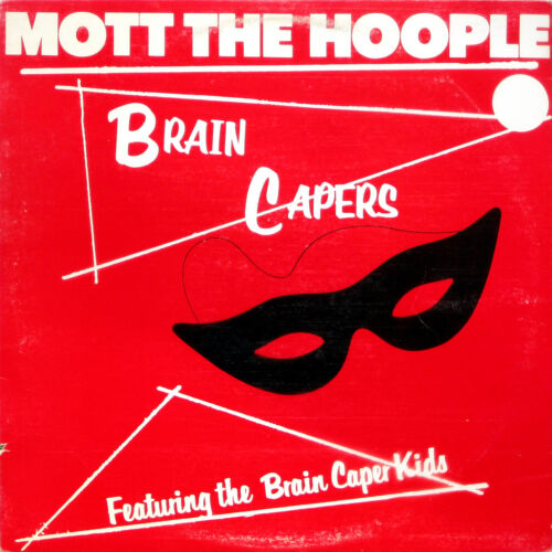 """Mott The Hoople . /""""Brain Capers/"""". Retro Album Cover Poster A1 A2 A3 A4 Sizes"""