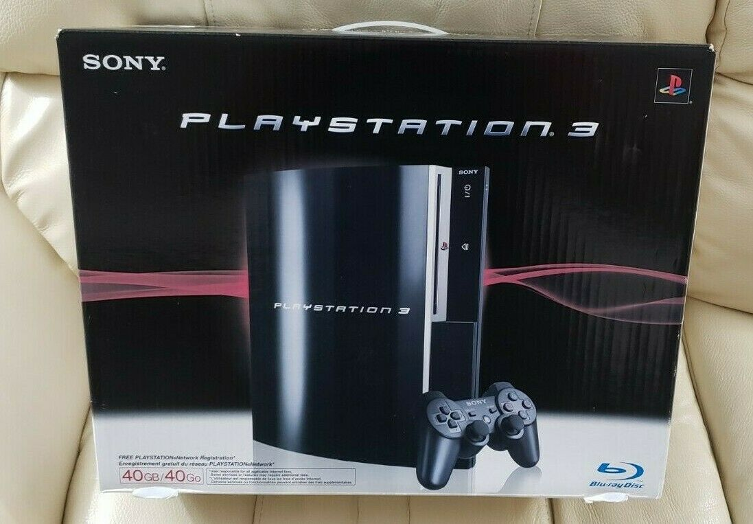 Sony Playstation 3 40gb Conosle Piano Black For Sale Online Ebay
