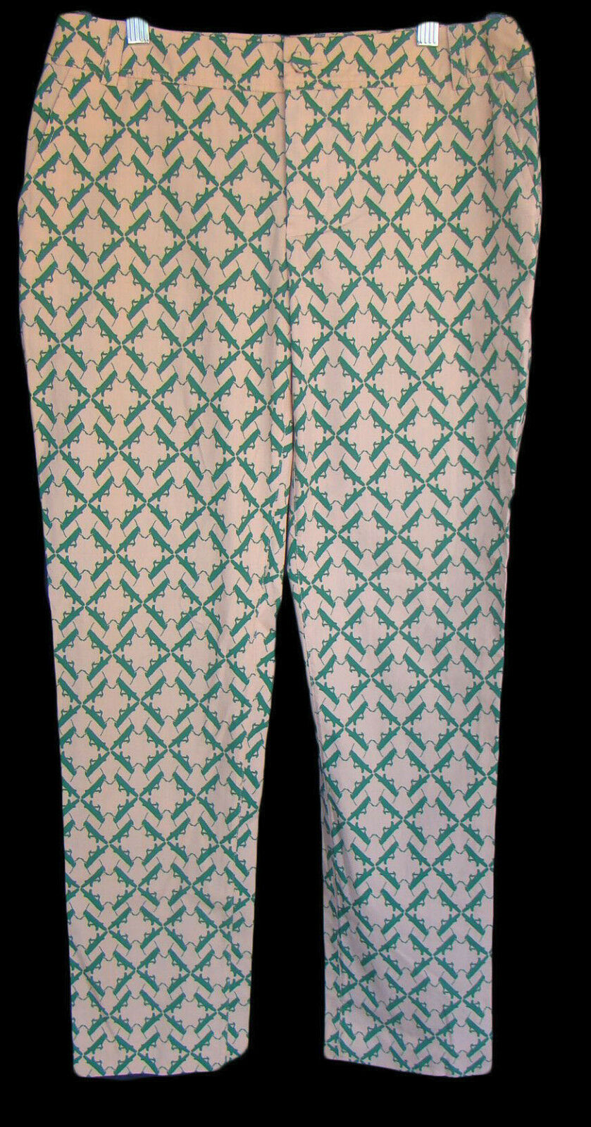 CHARLOTTE TAYLOR ANTHROPOLOGIE Size 4 Katydid Grasshopper Pants NWT